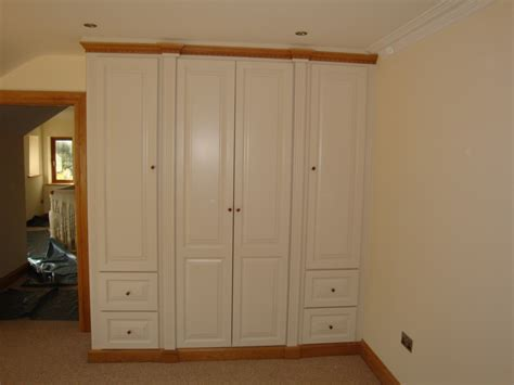 Oak And White Wardrobe by Wardrobes Fitted Wardrobes And Mirrored Furniture By