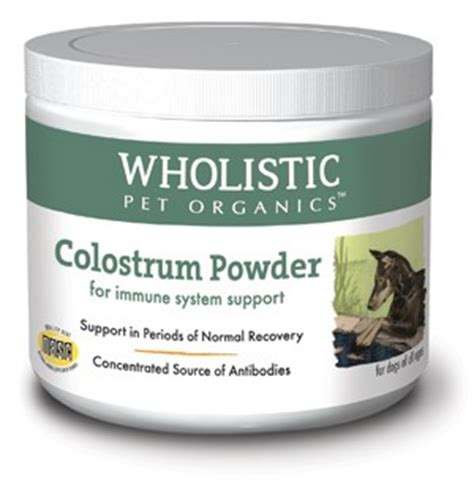 colostrum for dogs wholistic colostrum powder supplements canine