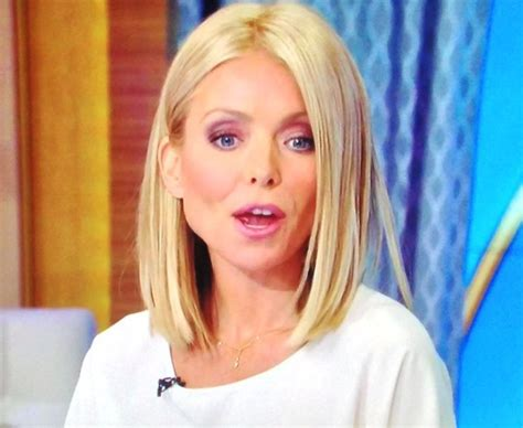 kelly ripa bob wave hair pinterest kelly ripa bobs kelly ripa new hair cut kelly ripa s new haircut love