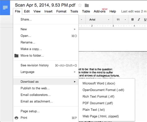 format file ocr how to ocr documents for free in google drive