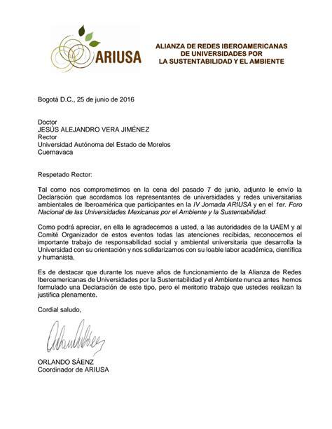 www contraloria general de estado declaracion uramentado carta y declaraci 243 n de ariusa a la uaem universidad