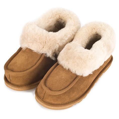 slipper and the sheepskin slipper boots ecl949 the leather and