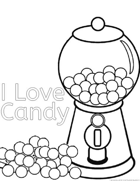 chocolate coloring pages coloring home