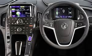 Vauxhall Mokka Interior Vauxhall S Ampera Is A New Kind Of Electric Car That Can