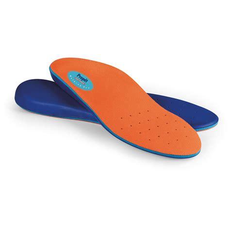 prop 233 t 174 walking pro insoles orange 428219 boot shoe