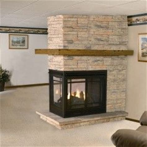 Sided Gas Fireplace Inserts by See Thru Multi Sided Fireplaces Fireplaces