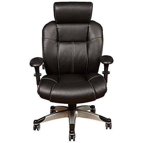 posturepedic office chair sealy posturepedic 174 independent arm high back office chair