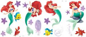 little mermaid room appliques blue mountain wallcovering ariel wall decal personalised girls little mermaid