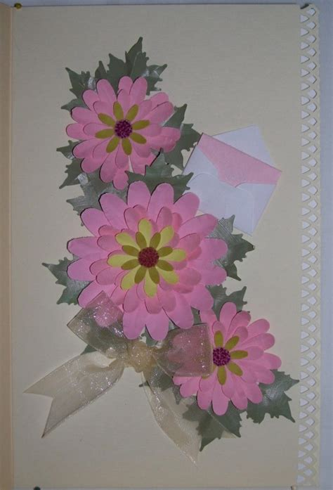 how to make photo greeting cards how to make uniquely beautiful floral greeting cards