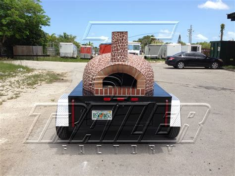 Oven Mobil brick oven pizza trailer images