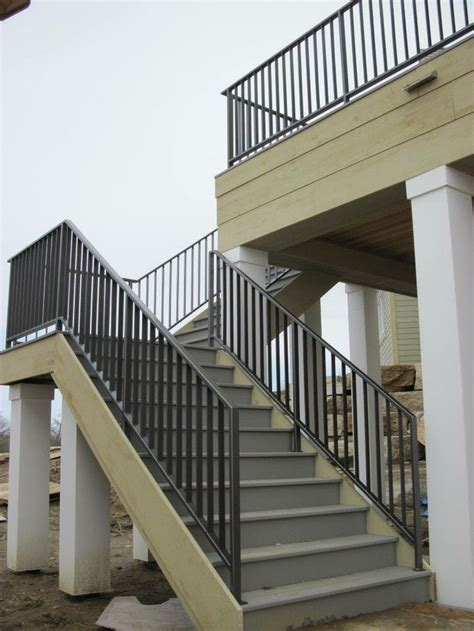 Iron Deck Balusters Custom Iron Deck Railing Iron Deck Railings