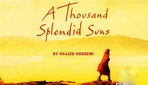 Thousand Splendid Suns Essay by Book Review A Thousand Splendid Suns The Paper Cut