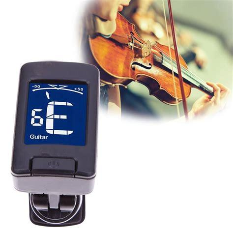 Tuner Gitarbassukulele Dan Biola Berkualitas tuner klip mini alat stem biola dan gitar mini yang praktis harga jual
