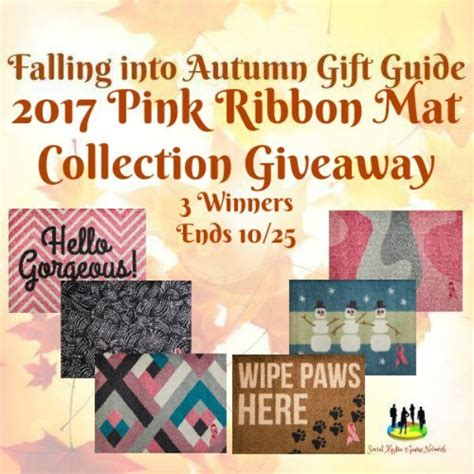Pink Ribbon Giveaways - 2017 pink ribbon mat collection giveaway homeschool insights