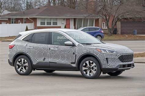 Ford Escape 2020 by 2020 Ford Escape Kuga Spied With Production Is A