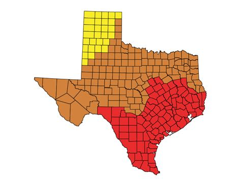 climate map texas state code status texas the building codes assistance project
