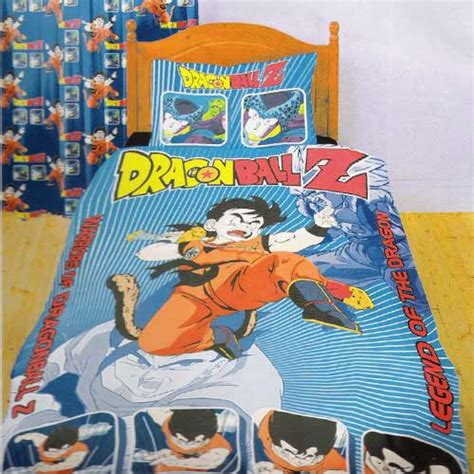 dragon ball z bedding dragon ball z bed set