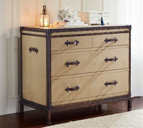 Leather Dresser by Redford Trunk Dresser Pottery Barn