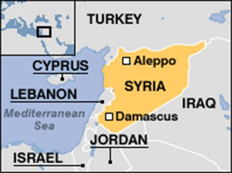 map of syria and surrounding countries news programmes from our own correspondent