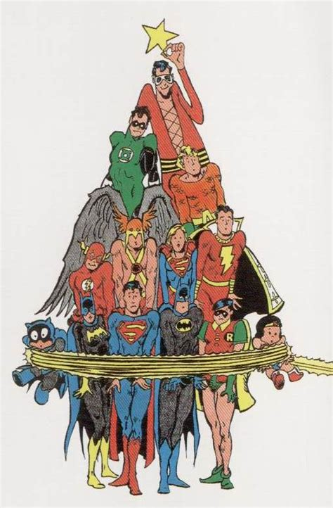 superhero christmas tree dc comics ディーシー コミックス pinterest