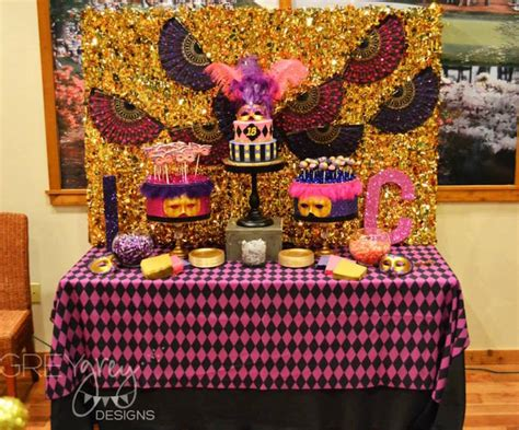 18th Birthday Giveaway Ideas - masquerade 18th birthday party