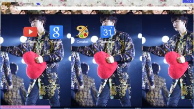 theme google chrome exo k park chanyeol chrome themes themebeta