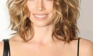 curley above shoulder length hair syles shoulder length layered haircuts for thick curly hair