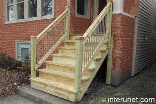 gallery for gt wood front porch steps