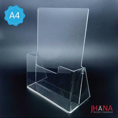 Jual Cermin Acrylic category tempat brosur acrylic akrilik acrylic display harga acrylic jual acrylic harga