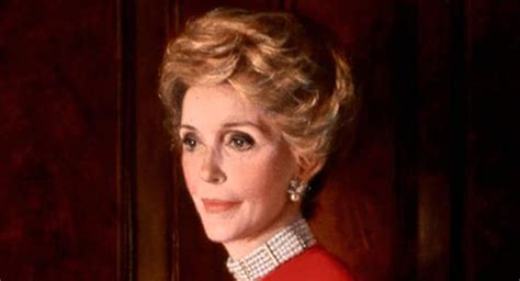 nancy reagan nancy reagan former first lady and wife to ronald reagan