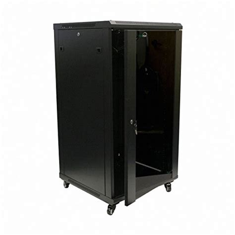 wall mounted locking cabinet navepoint 22u it wall mount network server data cabinet