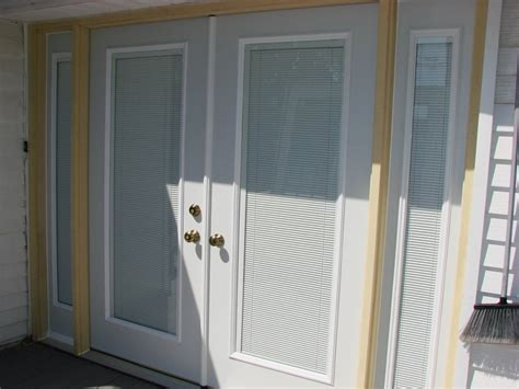 Bathroom Blinds Ideas by Double Entry Door W 14 Sidelights Hicksville Ohio