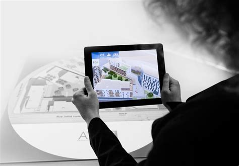House Building Game architecture in augmented reality with urbasee