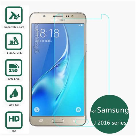 Screen Guard Samsung J1 Ace Tempered Glass Bening Delcell Protector for samsung galaxy j1 j3 j5 j7 2016 tempered glass screen