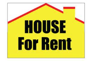 house on rent printable house for rent sign free pdf download for rent signs