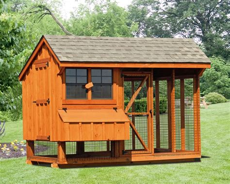 combination chicken coops green acres outdoor living
