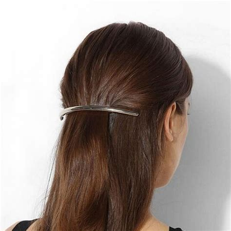 Plain Hair Clip buy wholesale plain metal barrettes from china