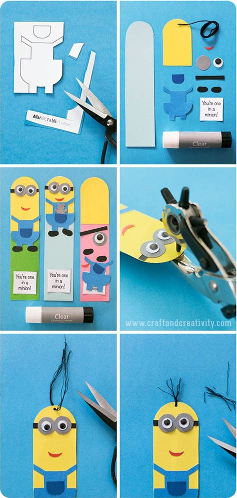 printable bookmarks minions 1000 ideas about bookmark template on pinterest