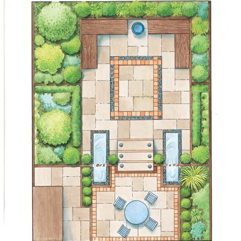 backyard layout planner garden designs for a small garden