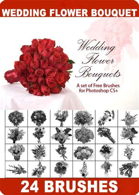 Wedding Bouquet Definition by 4 Designer 24 High Definition Wedding Bouquet Ps Brush