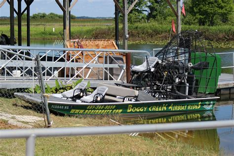 fan boat ride orlando boggy creek airboat rides