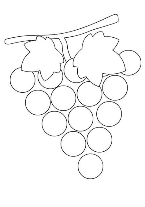 preschool grapes coloring page 17 best images about grapes on pinterest coloring cafe