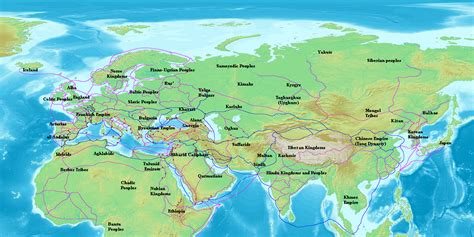 map of eurasia file radhanites2 png wikimedia commons