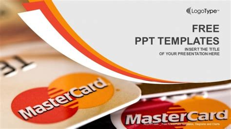 card powerpoint template credit cards powerpoint templates
