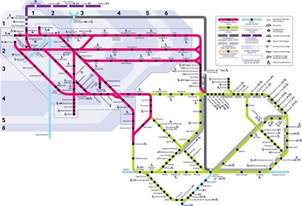 map of commuter rail stations lines