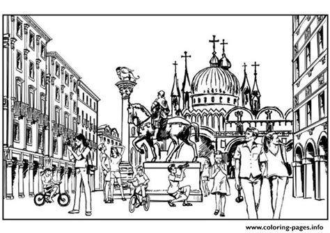 coloring book artist rome city pages616f coloring pages printable