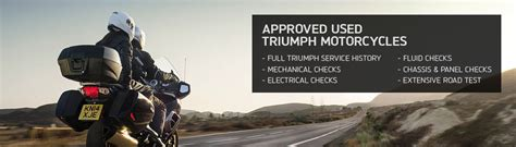 approved used uk approved used triumph in birmingham