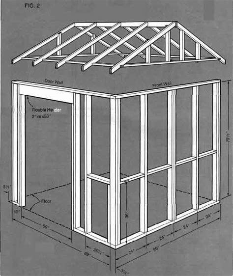 Building Plans For A Shed by 8 215 8 Shed Building Plans How To Build A Storage Shed Easily