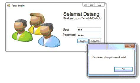 membuat form login di c membuat form login dengan database mysql di c c sharp