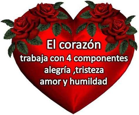 imagenes amor y sentimientos del corazon imagen de amor de un coraz 243 n con frase tierna